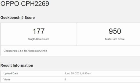 手机可以典当多少钱:OPPO A16手机现身国外跑分软件:搭载联发科 Helio G35 芯片