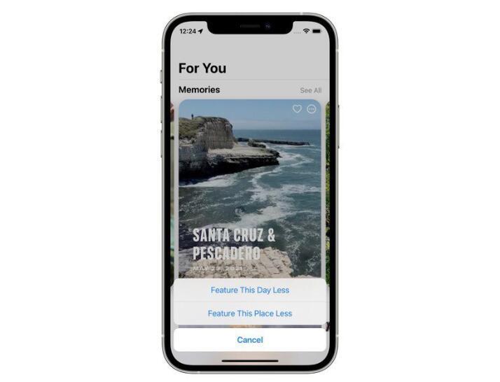 苹果手机寄存回收:iOS 15相册功能更新 将回忆选择权交还用户